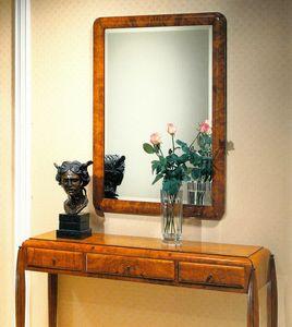 Art Déco Art.550 Spiegel, Spiegel aus abgeschrägtem Glas
