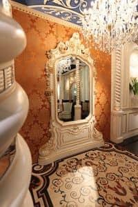 Art of Decor Spiegel, Klassische Spiegel Hand geschnitzt, mit der Goldende