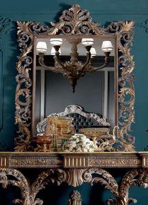 Barocchetto Art. SPE06, Barockspiegel mit Schnitzereien