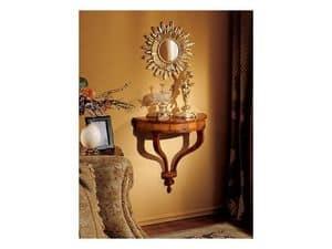 Emanuela mirror, Wandspiegel mit Sonnen Form