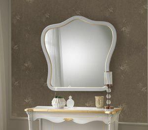 Giulietta Art. 3311 - 3411, Spiegel mit lackiertem Rahmen