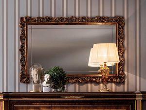 Modigliani geschnitzter Spiegel, Spiegel mit edlem Rahmen