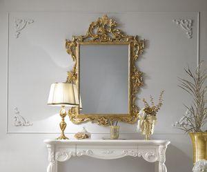 Puccini Art. 110, Klassischer Spiegel, Blattgold