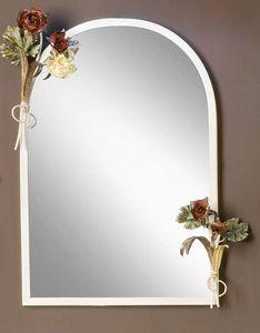 SP.8055, Spiegel mit Rahmen mit Blumenschmuck