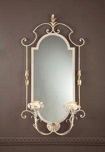 SP.8425/2/G, Klassischer Spiegel mit integrierten Leuchten