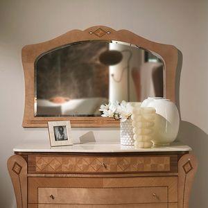 SP35 Charme Spiegel, Spiegel mit eingelegtem Rahmen