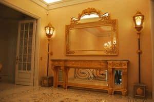 SPIEGEL CR 0060, Geschnitzte klassische Spiegel, für Luxus-Hotels und Villen