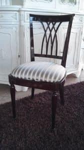 2030 STUHL, Stuhl im englischen Stil in Mahagoni