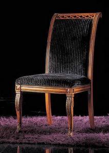 239ST, Gepolsterte Holzstühle