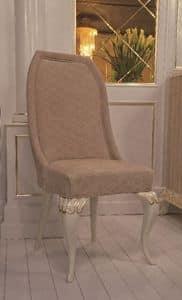 Art. 101, Klassischer Stuhl, in Veloursleder bedeckt