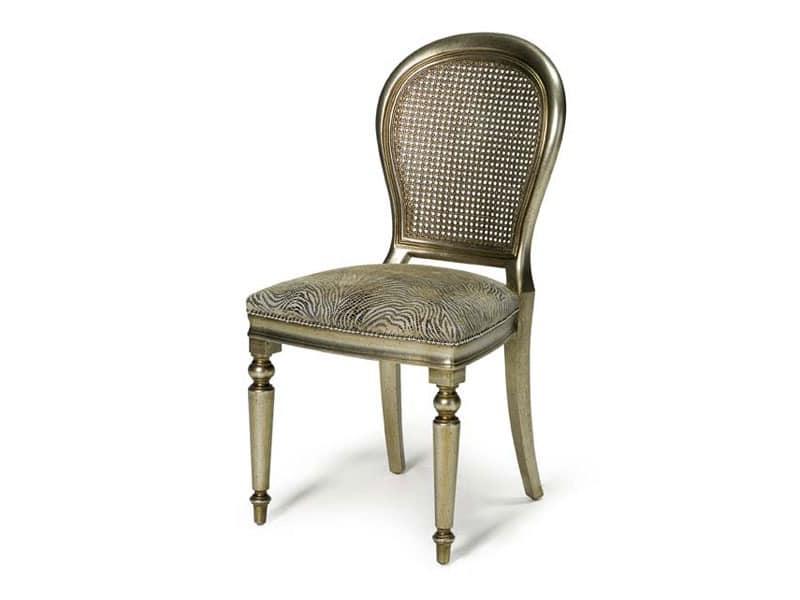 Art.152 chair, Klassischer Stuhl für Esszimmer