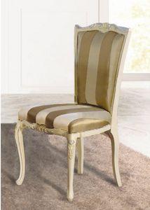 Art. 3164, Klassischer Stuhl mit geschnitzten Verzierungen