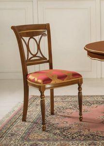 Art. 3506, Esszimmerstuhl mit gepolstertem Sitz