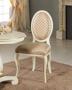 Art. 3766, Klassischer Stuhl mit ovaler Rückenlehne