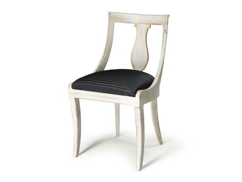 Art.465 chair, Klassischen Stil Stuhl aus Holz für Bars, Restaurants und Hotels