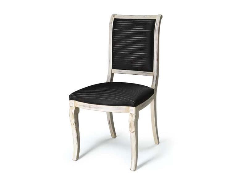 Art.466 chair, Stuhl für die Gaststätten ohne Armlehnen, klassischen Stil
