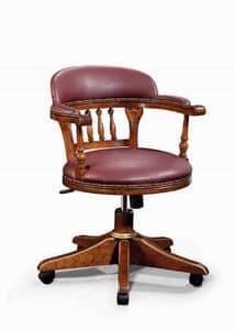 Art. 526g, Stuhl mit Rädern, im klassischen Stil