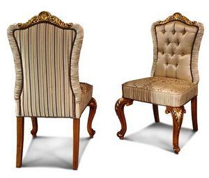 Art. 633, Eleganter Stuhl mit geschnitzten Beinen