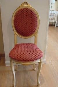 Art. 835, Klassischer Stuhl für die Küche, beunruhigte Holz