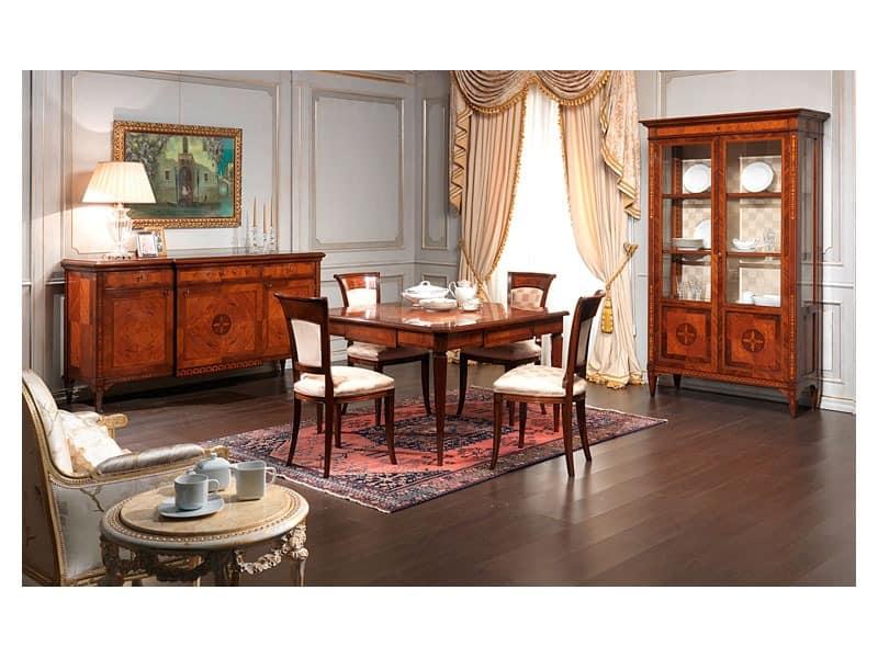 Art. 910 chair, Klassische Stuhl, Holz Antik-Finish, für die Gaststätten