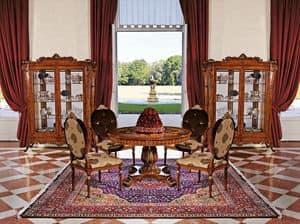 Art. 933, Polsterstuhl für Esszimmer, klassischen Stil