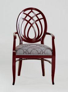 BS368A - Stuhl, Stuhl mit Harfenrücken