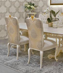 Diamante Art. 2623, Stuhl mit dekorativen Schnitzereien