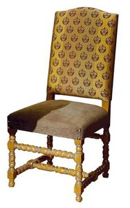 Gallicano ME.0982, '600 italienischen Stuhl, gepolstert, für Hotels und Restaurants