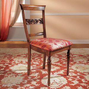 I Dogi di Venezia DOGI-E609, Klassischer Stuhl für Esszimmer