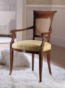 M 606, Stuhl mit Stuhllehne für Klassiker Wohnzimmer