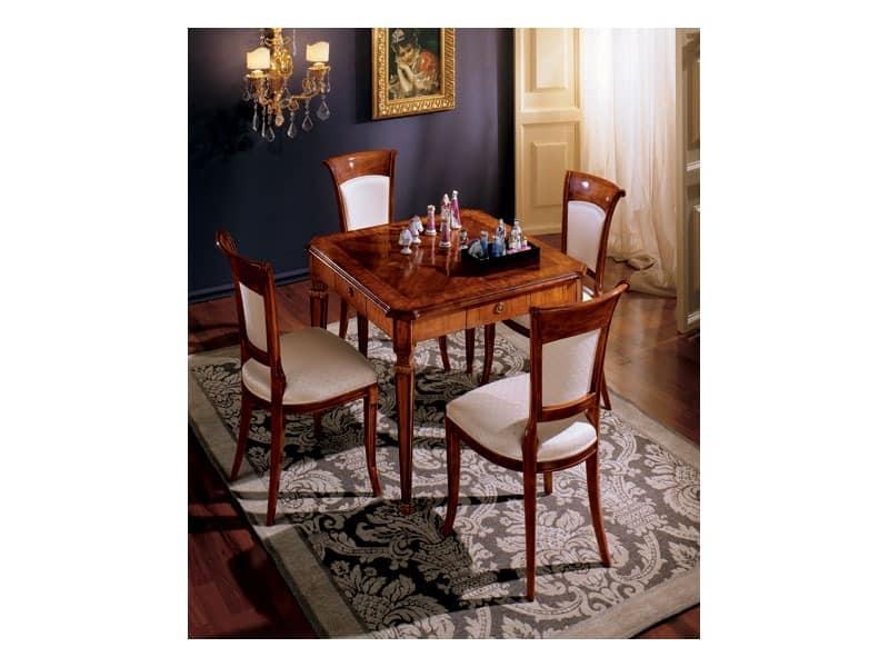 Maggiolini chairs 538, Klassischer Stil Esszimmer Stuhl