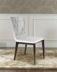Matisse, Luxus-Sessel mit gesteppter Polsterung am Rücken