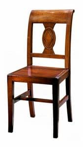 Piombino ME.0961.L, Stuhl ganz aus Holz, im klassischen Stil