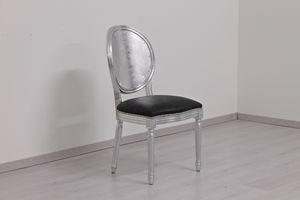 Rotondo Kunstleder, Klassischer gepolsterter Stuhl