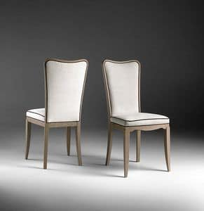 ST 601, Moderner gepolsterter Stuhl, für Wohnzimmer