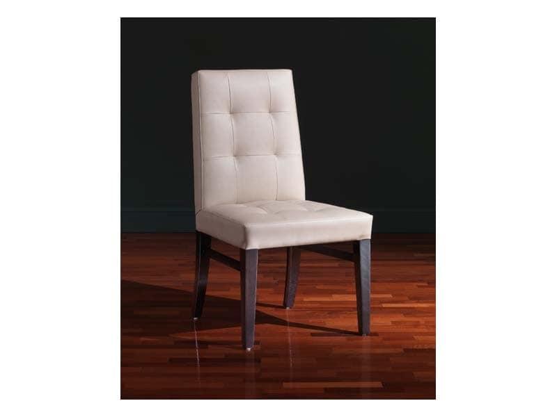 Star Chair, Mehrzweckstuhl, in Leder, mit anpassbaren Polieren