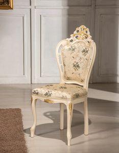 Traforata Plus Stuhl, Geschnitzter Esszimmerstuhl