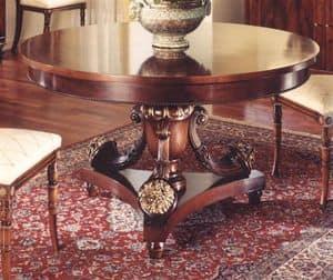3000 TAVOLO, Runder Tisch für klassische Esszimmer