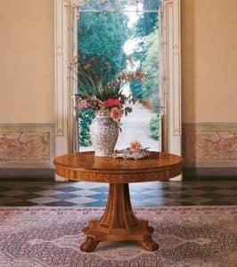 Art. 1107, Runder Tisch, klassisches Design für Luxus-Esszimmer