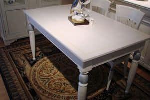 Art. 891, Lackiert rechteckigen Tisch, für klassische Küche