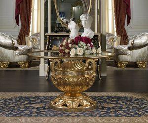 Art. 9090/R Luigi XVI - Versailles, Renommierter geschnitzter Tisch