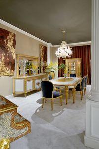 Esstisch 1443 im Louis XVI-Stil, Luxuriöser Esstisch