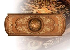 F500 Table, Tabelle in fester Hand geschnitzten Holz, für Aufenthalte