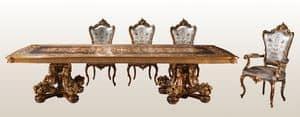 F800, Luxus eingelegten Tisch, für klassische Residenzen