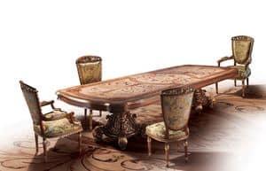 F800, Tabelle Intarsien von Hand, für Luxus-Villa