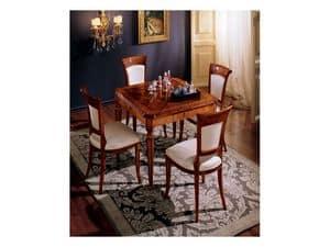 Maggiolini table 799, Luxury klassischen quadratischen Tisch