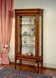 Art. 185 Giordania, Eingelegter Vitrinenschrank im Louis XVI-Stil