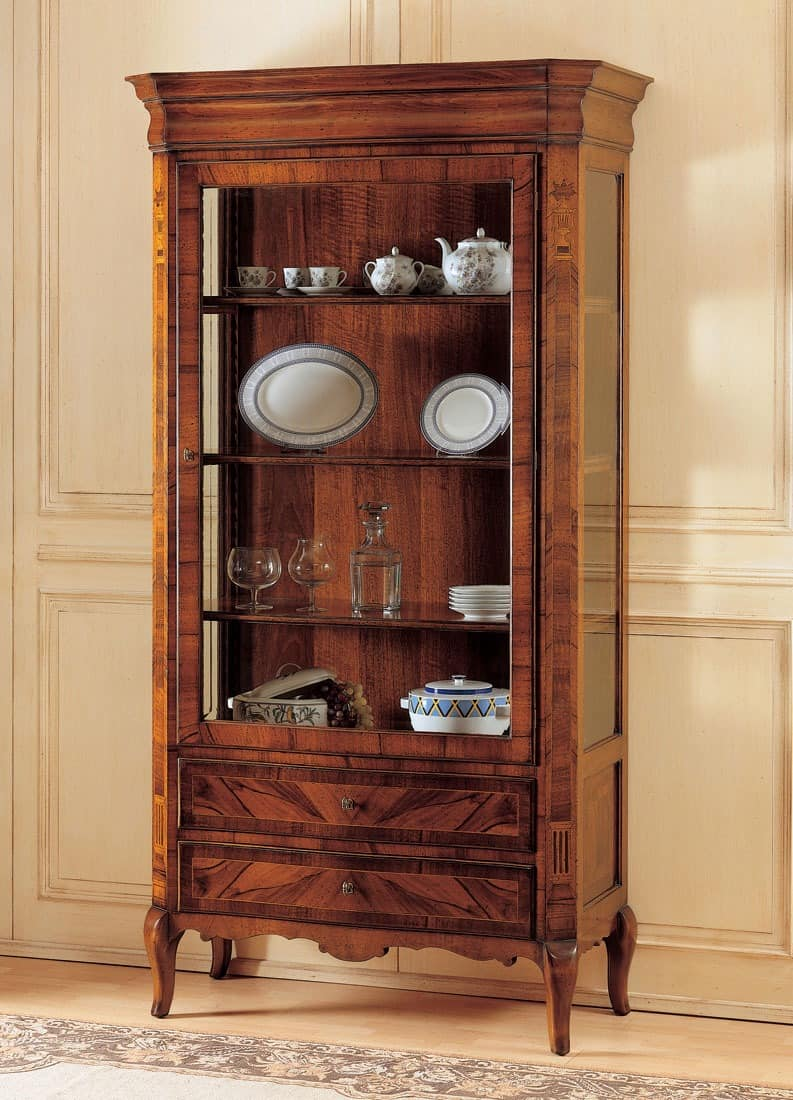 Art. 903, Schaufenster dekoriert in Holz, 800 Französisch-Stil