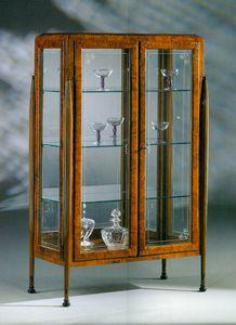 Art Déco Art.532 Vitrine, Schaufenster im Art-Deco-Stil