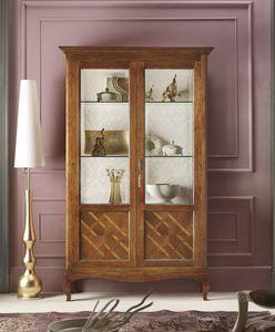 Floreale Vitrine, Traditionelles Design-Schaufenster